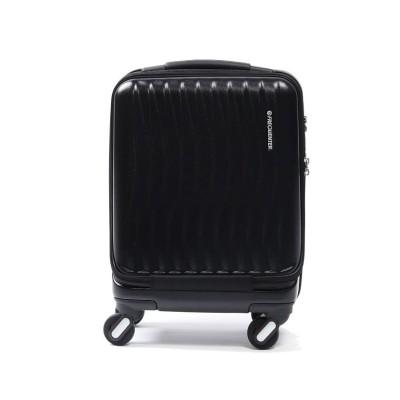 【ギャレリア】 フリクエンター クラムアドバンス FREQUENTER スーツケース CLAM ADVANCE 機内持ち込み 23L 1-217 ユニセックス ブラック F GALLERIA