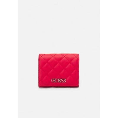 ゲス レディース アクセサリー ILLY SMALL TRIFOLD - Wallet - red