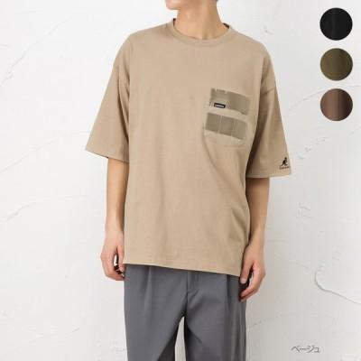 KANGOL カンゴール 半袖Tシャツ 五分袖Tシャツ メンズ トップス ネコポス対応