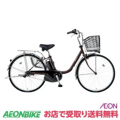 【お店受取り送料無料】 パナソニック (Panasonic) ビビ SX 2021年モデル 8.0Ah チェスナットブラウン 内装3段変速 24型 BE-ELSX432 電動自転車