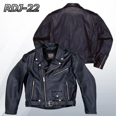 (在庫限り!限定特価品) レザージャケット NANKAI RDJ-22BB ヴィンテージ サイクル (ワイドサイズタイプ)牛革 ブラック