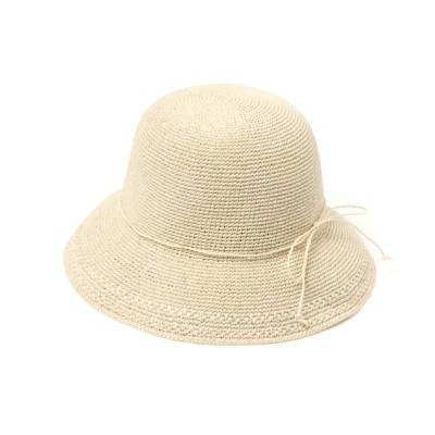 studio CLIP / 畳める細編みハット WOMEN 帽子 > ハット