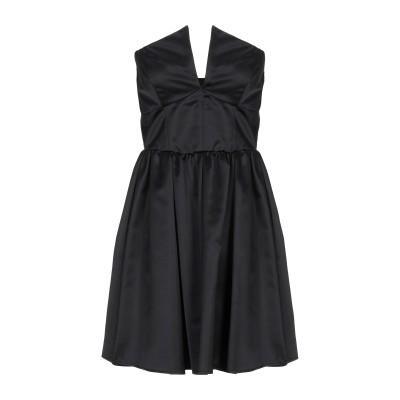 カルラ ジー CARLA G. ミニワンピース&ドレス ブラック 42 レーヨン 54% / ナイロン 46% ミニワンピース&ドレス