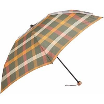 [ムーンバット] MAXIME LABEYRIE(マキシム ラベリ) 婦人折りたたみ傘 先染めチェック柄 レディース
