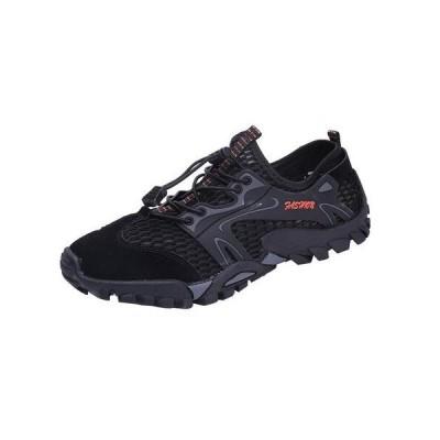 渓流靴 トレッキングシューズ アウトドアシューズ 水陸両用 ウォーキング ハイキング メンズシューズ 登山靴 アウトドア キャンプ 2019