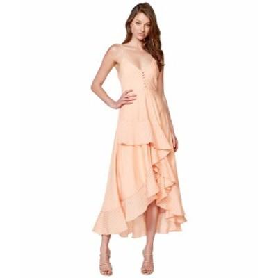 バードット レディース ワンピース トップス Sara Frill Dress Peach Stripe
