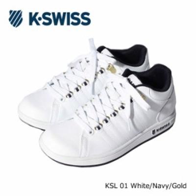 ケースイス スニーカー メンズ レディース シューズ ミッドカット K-SWISS KSL 01