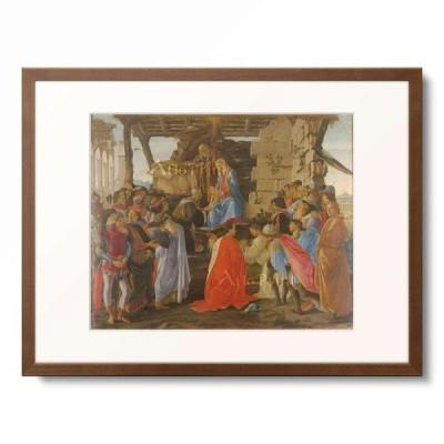 サンドロ・ボッティチェッリ Sandro Botticelli 「Die Anbetung der Konige, 1473/75.」