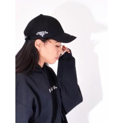 MACK BARRY マクバリ― 帽子 キャップ レディース メンズ 無地 韓国 大きめ SIDE STITCH CURVE CAP BTS Jung Kook Jimin Stray kids EXO