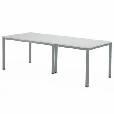 OAミーティングテーブル W2100xD900 ホワイト ATW-2190-AF2 アールエフヤマカワ RFyamakawa 会議机 会議室 フリーアドレス 大型テーブル 作業台 オフィス家具