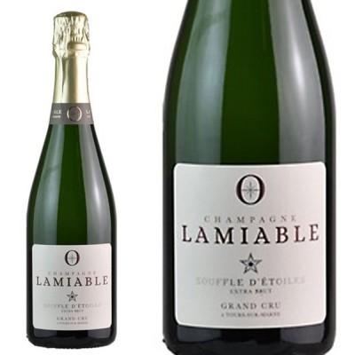 ラミアブル シャンパーニュ スーフル デトワール グラン クリュ 特級 エクストラ ブリュット 手摘み100% 正規品 750ml 白ワイン