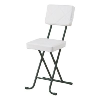 4脚セット フォールディングチェアー スチール 折りたたみ チェアー いすイス 椅子 コンパクト リビング キッチン 会議室 シンプル モダン お