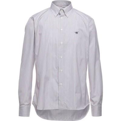 ヘンリーコットンズ HENRY COTTON'S メンズ シャツ トップス Striped Shirt Mauve