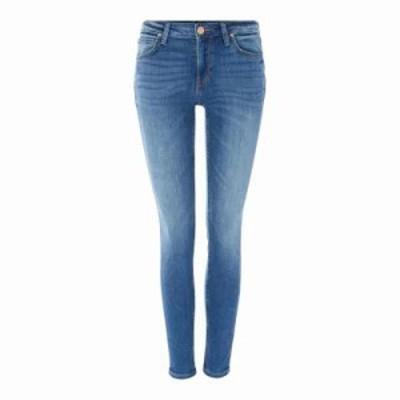 リー ジーンズ・デニム Scarlett High Rise Skinny Jeans In Midtown Blues denim mid wash