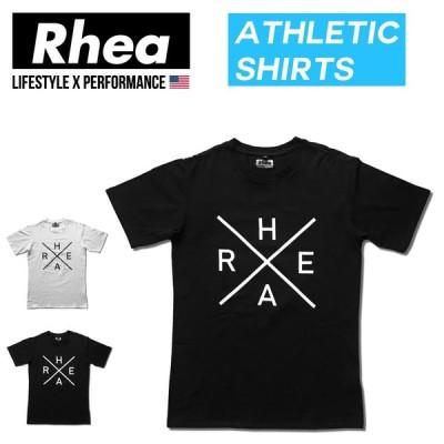 003 Rhea(レアー) トレーニングウェア フィットネス ストリートワークアウトTシャツ 半袖 ストレッチ【メンズ】