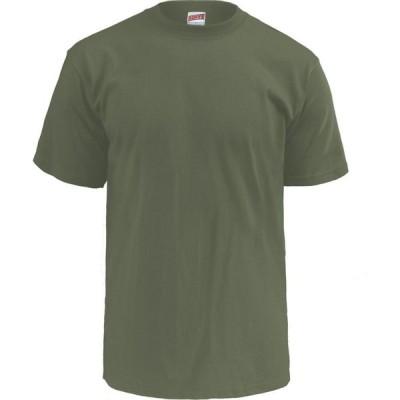 ソフィー Soffe メンズ Tシャツ トップス Midweight Cotton T-Shirt OD Green