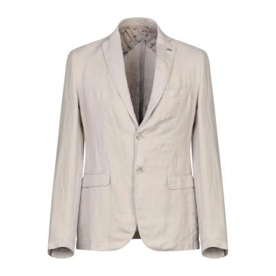 BARBATI テーラードジャケット ベージュ 48 麻 50% / コットン 33% / ポリエステル 17% テーラードジャケット