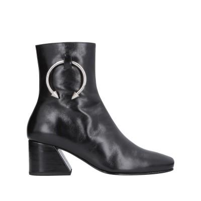 ドレーテイムーア DORATEYMUR ショートブーツ ブラック 38.5 牛革(カーフ) ショートブーツ