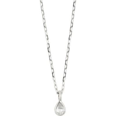 ボニー レヴィ BONY LEVY レディース ネックレス ジュエリー・アクセサリー Varda Petite Pear Shape Diamond Pendant Necklace 18k White Gold