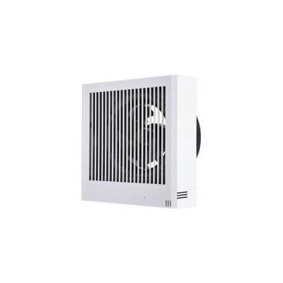 三菱 パイプ用ファン 排気用 湿度センサータイプ 24時間換気機能付 角形格子グリル 居室・洗面所用 接続パイプφ150mm V-12PHLD7
