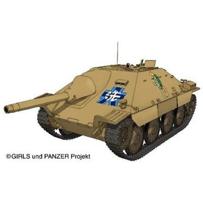 1/35 ガールズ&パンツァーシリーズ 38 t 戦車改 ヘッツァー仕様 カメさんチームver. プラモデル[PLA-GP08]