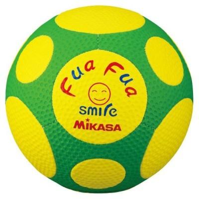 [Mikasa]ミカサファファサッカー 4号球(FFF4YG)(00)イエロー/グリーン[取寄商品]