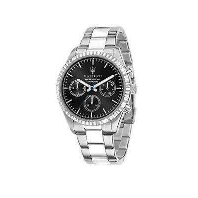 (新品) Maserati Men's Competizione R8853100023 Silver Stainless-Steel Quartz Dress Watch