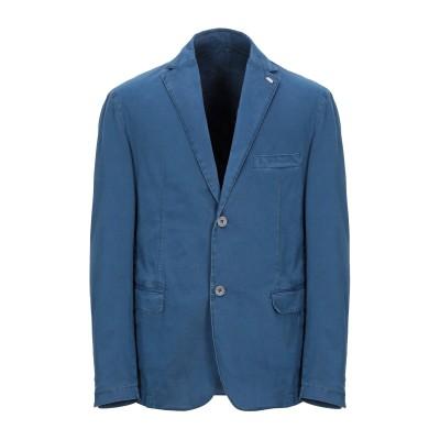 BARBATI テーラードジャケット ブルー 48 コットン 98% / ポリウレタン 2% テーラードジャケット