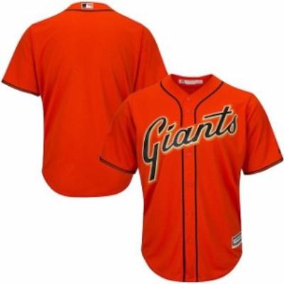 Majestic マジェスティック スポーツ用品  Majestic San Francisco Giants Youth Orange Official Cool Base Jersey