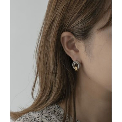URBAN RESEARCH ROSSO/アーバンリサーチ ロッソ F by ROSSO ダブルリングピアス SILVER -