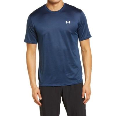 アンダーアーマー UNDER ARMOUR メンズ フィットネス・トレーニング Tシャツ トップス Training Vent 2.0 Performance T-Shirt Academy/White