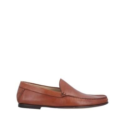 A.TESTONI モカシン  メンズファッション  メンズシューズ、紳士靴  モカシン タン