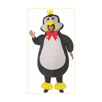 ペンギン 衣装、コスチューム 大人用 着ぐるみ 空気で膨らむ■サイズ:STD