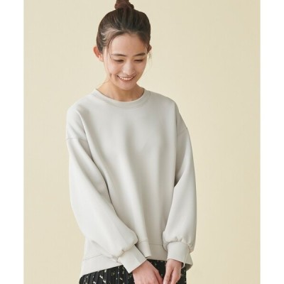 tシャツ Tシャツ インスタライブ紹介item【S-LL】なめらかタッチ美人スウェットバックスリットプルオーバー