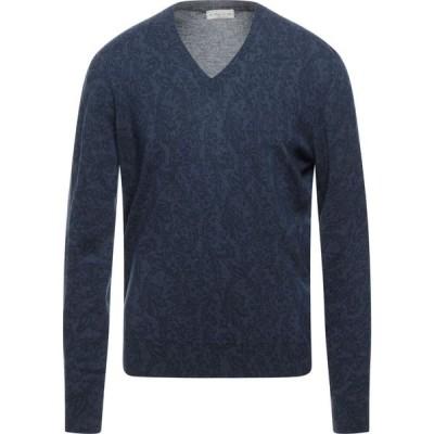 エトロ ETRO メンズ ニット・セーター トップス sweater Dark blue