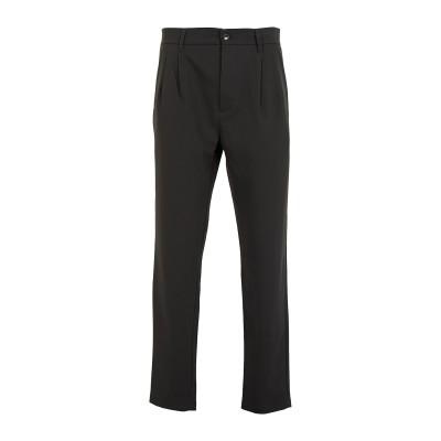 8 by YOOX パンツ ブラック 46 ポリエステル 78% / レーヨン 18% / ポリウレタン 4% パンツ