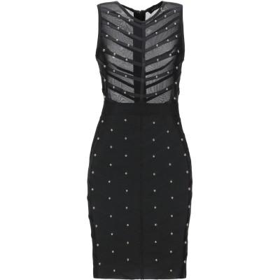 MANGANO ミニワンピース&ドレス ブラック XS/S ポリエステル 90% / ポリウレタン 10% ミニワンピース&ドレス