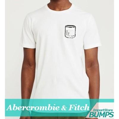 アバクロンビー&フィッチ プリントTシャツ 半袖 メンズ 刺繍ロゴ 丸首 XS〜XXL 新作 アバクロ