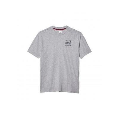 Herschel Supply Co. ハーシェルサプライ メンズ 男性用 ファッション Tシャツ Tee - Heather Grey/Peacoat