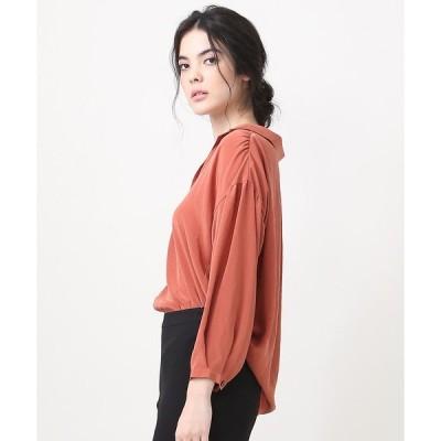 Rouge vif la cle / ルージュ・ヴィフ ラクレ PORTCROS デシンギャザーシャツ