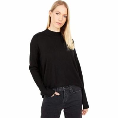 メイドウェル Madewell レディース ニット・セーター トップス Ashbury Mockneck Sweater True Black