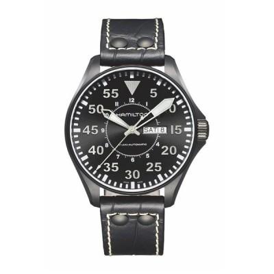 ハミルトン メンズ 腕時計 アクセサリー Men's Khaki Aviation Swiss Automatic Watch, 46mm -
