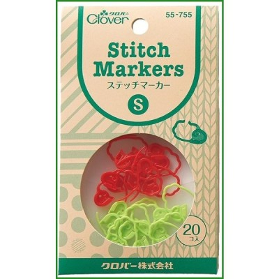 送料無料 クロバー 編み物用品 ステッチマーカー S 55-755|b03