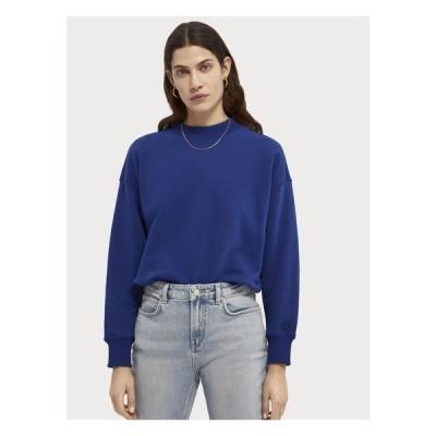 スコッチアンドソーダ パーカー・スウェットシャツ レディース アウター CREWNECK - Sweatshirt - yinmin blue