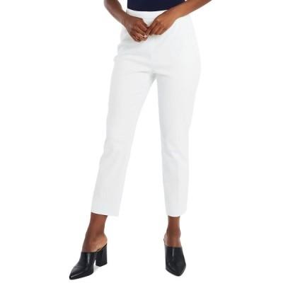 ライリー レイ カジュアルパンツ ボトムス レディース Reese Slim-Leg Pants, Created for Macy's Soft Ecru
