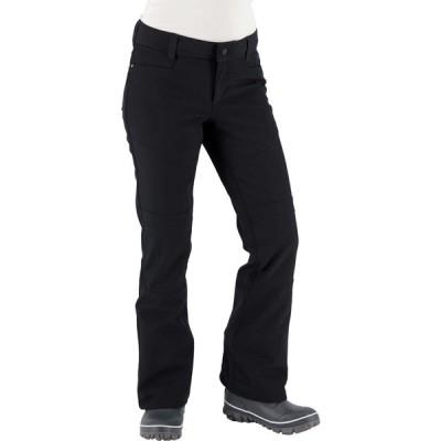 オバマイヤー カジュアルパンツ ボトムス レディース Obermeyer Women's Glyph Tech Softshell Snow Pants Black
