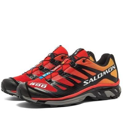 サロモン Salomon メンズ スニーカー シューズ・靴 S/LAB XT-4 ADVANCED Black/Red/Impact Yellow