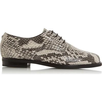 デューン Dune London レディース ローファー・オックスフォード ブローグ シューズ・靴 Flaura Brogue Shoes Natural