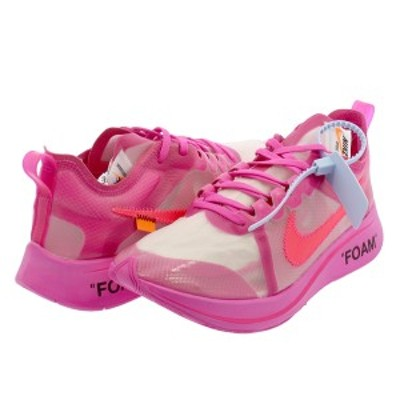 NIKE ZOOM FLY SP【THE TEN】 【OFF-WHITE】 ナイキ ズーム フライ SP オフ ホワイト TULIP PINK/RACER PINK aj4588-600