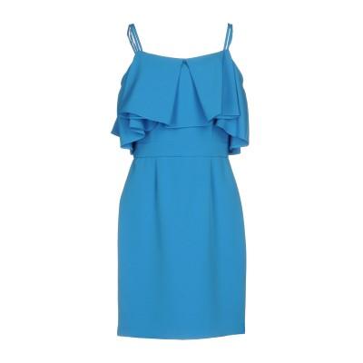 ブルマリン BLUMARINE ミニワンピース&ドレス アジュールブルー 46 ポリエステル 88% / ポリウレタン 12% ミニワンピース&ドレス